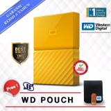 Harga Western Digital Wd My Passport New Design 4Tb 2 5 Usb 3 Kuning Gratis Pouch Wd Online