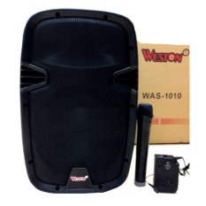 Weston Speaker Portable Amplifier Wireless Meeting &Amp Was 1010 -10 Inch