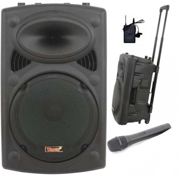 Weston Speaker Portable Wireless Pa Amplifier 12 Inch