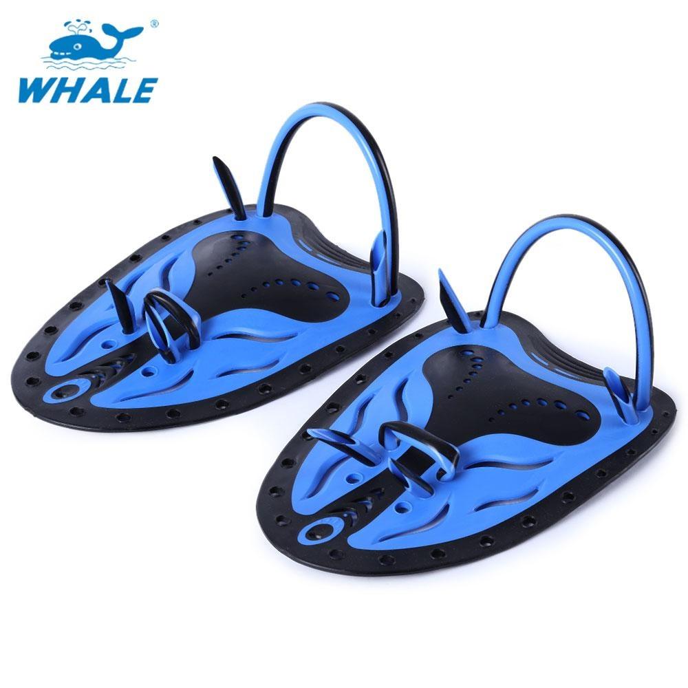Diskon Whale Dipasangkan Pria Women Adjustable Renang Tangan Dayung Sirip Sirip Selaput Pelatihan Sarung Tangan Menyelam L Size Intl Whale Tiongkok