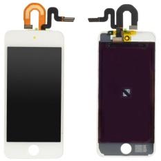 Putih Layar LCD Digitizer Layar Sentuh Kumpulan untuk IPod Touch 5 5th Gen-Intl