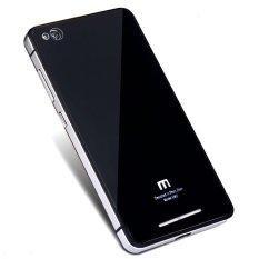 Harga White Sands Aluminium Tempered Glass Hard Case For Xiaomi Redmi 3 Black Silver Origin