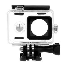 Review Terbaik White Sands Underwater Waterproof Case Casing Ipx68 For Xiaomi Yi