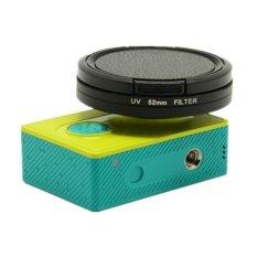 Promo White Sands Uv Filter Lens 52Mm With Cap For Xiaomi Yi Murah