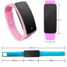 Grosir Layar Sentuh LED Electronic Bracelet Watch Versi Korea dari Dua Generasi Jelly Sunglasses Watch Perdagangan Luar Negeri Anak-anak Silicone Watch-Intl