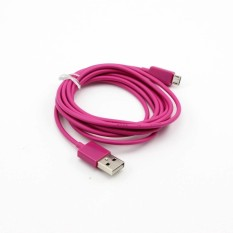 Whyus 2M USB Sync Data Charger Charging Cable Cord For SamsungGalaxy Nokia Lumia HTC (Peach)