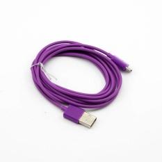 Whyus 2 M USB Sync Data Charger Mengisi Kabel Kabel untuk Samsung Galaxy Nokia Lumia HTC (Ungu)-Intl