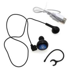 Ulasan Lengkap Whyus Mini Nirkabel Stereo Bluetooth Bebas Genggam Listening To Music 4 Headset And Headphone Hitam