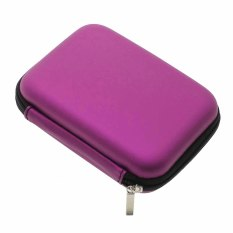 Harga Whyus Universal Useful Hard 2 5 Digital Device Carrying Protection Case Portable Power Purple Termahal