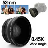 Spesifikasi Wide Angle Lens With Macro 45X 52Mm For Nikon D40 D60 D70S D3000 D3100 D5000 Black Terbaik