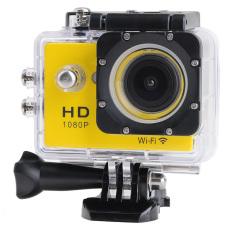 Wifi Aksi Kamera Digital 12Mp HD Penuh 1080 P 30Fps 2.0 Inch Lcddiving 30 M Tahan Air Olahraga DV