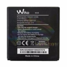Wiko Battery For Wiko Goa Original Batteries Li-ion 1300mAh / Baterai / Batre / Batu Batre / Baterai Wiko - Hitam