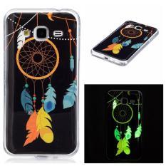 Wind Chimes Noctilucent TPU Lembut Kantong Gas Belakang Case Cover untuk Samsung Galaxy J3 Case-Intl