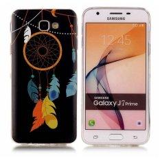 Wind Chimes Noctilucent TPU Lembut Kantong Gas Belakang Case Cover untuk Samsung GALAXY J7 Prime Case-Intl