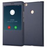 Beli Window View Flip Cover Case Untuk Xiaomi Mi Max 2 Intl Pake Kartu Kredit