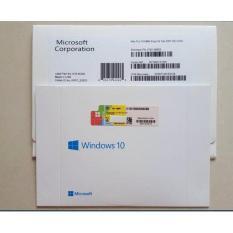 Jual Windows 10 Professional Oem Sp1 64 Bit Lifetime Fullpack Original Microsoft Ori