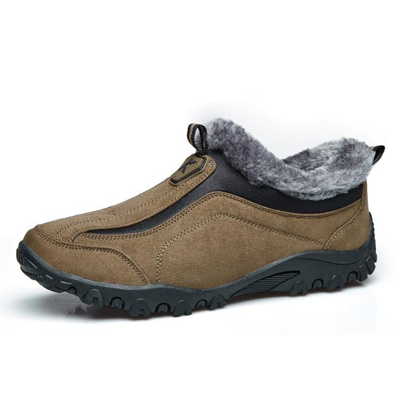 Winter Warm Plus Velvet Kapas Sepatu Non Slip Kenyamanan Olahraga Hiking Sepatu Ayah Set Foot Winter Shoes Intl Diskon Akhir Tahun