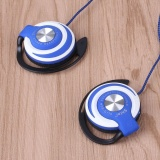 Toko Jual Wired Headset Clip On Ear Sport Headphone Earhook Earphone Untuk Mp3 Komputer Intl