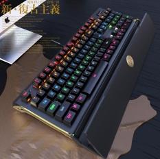 Wired Mechanical Keyboard Gamer Keyboard dengan RGB Backlight untuk PC Komputer Gaming-Intl