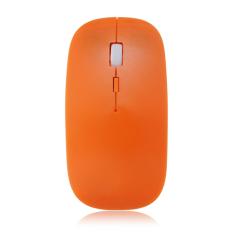 Jual Wireless 2 4 Ghz Usb Cordless Optical Mouse Mouse Untuk Laptop Notebook Komputer Pc Orange Online