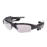 Nirkabel Bluetooth 4 Kacamata Hitam Stereo Handsfree Alat Pendengar Musik Hitam Oem Diskon 50