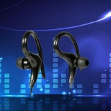 Toko Nirkabel Bluetooth Menggantung Headset Olahraga Headphone Earphone Musik Phonecall Termurah