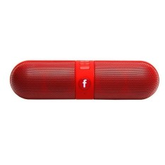 Nirkabel Bluetooth Speaker, Portable Stereo Bluetooth Speaker dengan HD Audio dan Surround Sound, Pil Mobil Outdoors FM Radio AUX USB TF Kartu MIC Speaker-Intl