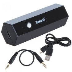 Wireless Bluetooth Stereo Audio Music Dongle Receiver Adapter foriPhone iPad Hifi iPod A2DP AVRCP (Black) - intl
