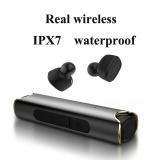 Toko Headphone Nirkabel S2 Real Wireless Bluetooth Headphone V4 2 Outdoor Sport Ipx7 Waterproof Invisible Headset Hitam Terlengkap Tiongkok