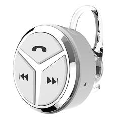Beli Tersembunyi Tidak Kelihatan Nirkabel Bluetooth 4 1 Hands Free Telepon Single Di Telinga Bluetooth Telinga Kait Headphone Speaker Mini Putih Online Murah