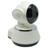 Spesifikasi Wireless Ip Camera Cctv 1 4 Inch Cmos 720P Night Vision Wd V02 White Yg Baik
