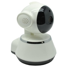 Spesifikasi Wireless Ip Camera Cctv 1 4 Inch Cmos 720P Night Vision Wd V02 White Online