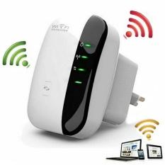 Wireless-n Wifi Repeater 802.11n/b/g Jaringan WiFi Router 300 Mbps Range Expander Sinyal Booster Extender WIFI AP WPS Enkripsi-Intl
