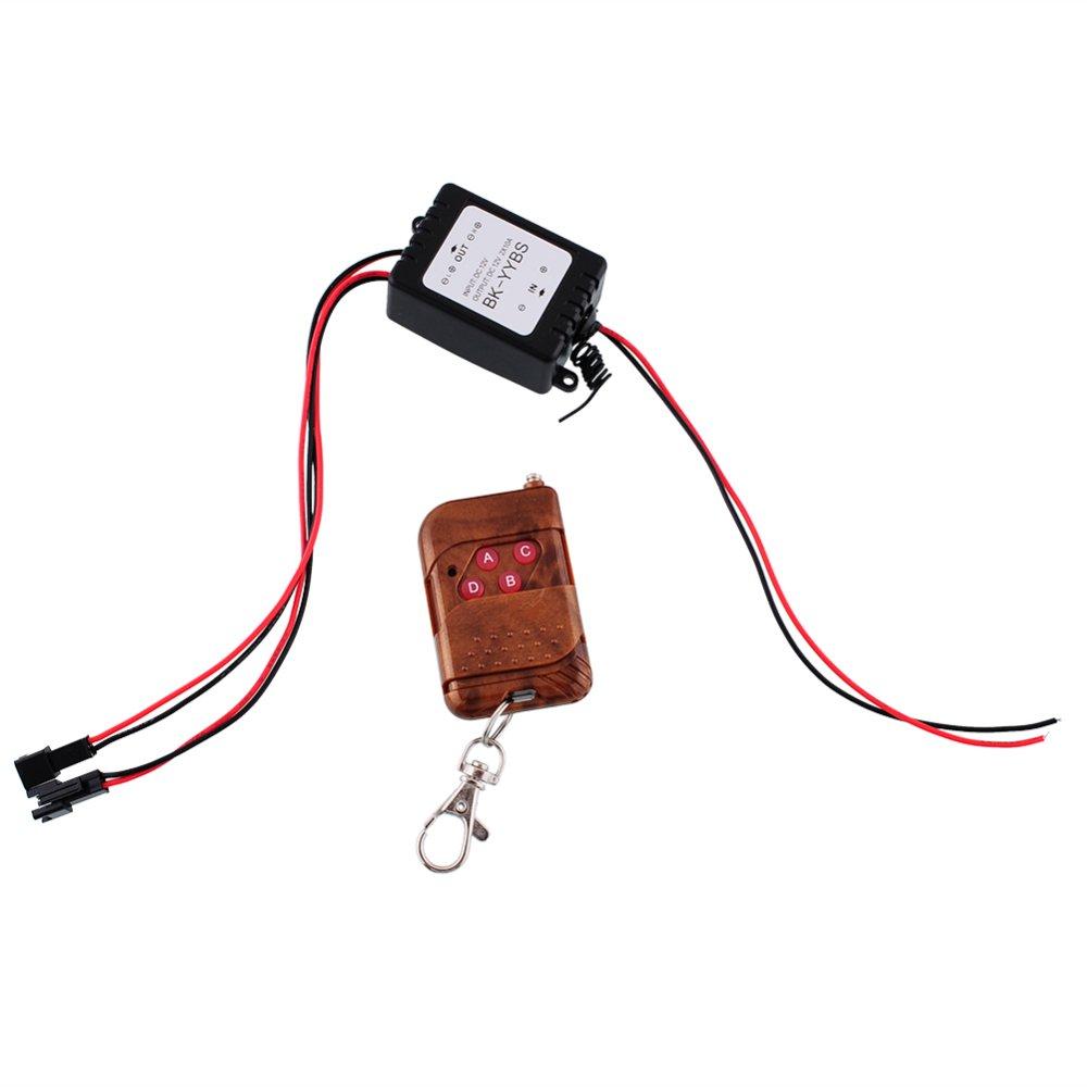 Beli Barang Wireless Remote Control Modul Untuk Mobil Lampu Led Strip Led W Strobe Flash 12 V Intl Online