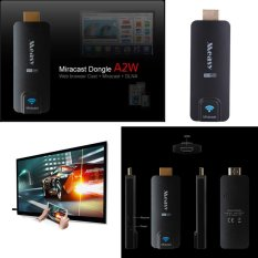 Wireless USB Bluetooth 4 K Ultra Full HD Video Lagu Linux HDMI Miracast Tampilan Dongle-Intl