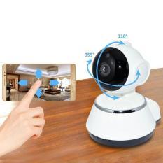 Wireless WIFI 720P Pan Tilt Network Home CCTV IP Camera IR Night Vision WiFi Webcam pasang dan mainkan Aplikasi Android / iOS Browser CMS Gratis Lihat Deteksi Motion Email Alarm PTZ Untuk Kamera Keamanan Rumah Tangga, Bayi, Lansia dan Pet