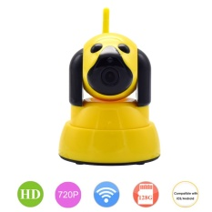Jual Wistino 720P Wifi Baby Monitor Security Ip Camera 1Mp For Smart Home Dog Cam Cctv Mini Wi Fi Video Camera Wireless Indoor Alarm Ptz P2P Intl Termurah