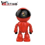 Review Wistino 960P Red Robot Ip Camera Wifi Baby Monitor 1 3Mp Wireless Cctv Ir Leds Remote Home Smart Monitoring Tf Card Indoor Nbsp Intl Tiongkok