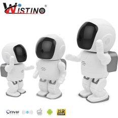 Diskon Wistino 960 P Robot Ip Camera Wifi Baby Monitor 1 3Mp Cctv Nirkabel Audio Ptz Ir Night Vision Remote Rumah Smart Pemantauan
