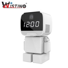 Beli Wistino 960 P Wifi Robot Ip Camera Wireless Baby Monitor 1 3Mp Smart Home Audio Ptz Ir Night Vision Pemantauan Jarak Jauh Dengan Clock Intl Online Tiongkok