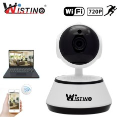 Jual Wistino Wifi Ip Camera 720P Wireless Baby Monitor Video Recordor Home Security Camera Ptz Surveillance Video Mini Cam Xmeye P2P Intl Branded Murah