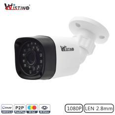 Beli Wistino Xmeye Kamera Cctv Luar Ruangan Lensa Lebar 1080P 2 8Mm Onvif P2P Inframerah Untuk Pemandangan Malam Cicil