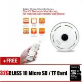 Review Dengan 32G Tf Card Hd 960 P 360 Mata Ip Kamera Keamanan 360 Derajat Mini Cctv Kamera Jaringan Rumah Panorama Ir Kamera Intl Terbaru