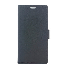With Magnetic Closure PU Leather Case Flip Stand Cover for HTC Desire 628 (Black) - Intl