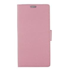dengan Penutup Magnetik PU Leather Case Flip Stand Cover untuk HTC Desire 628 (Pink) (Intl) -Intl