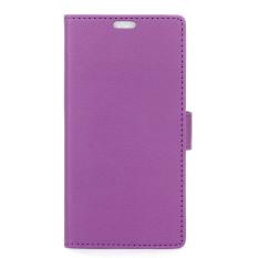 dengan Penutup Magnetik PU Leather Case Flip Stand Cover untuk HTC Desire 628 (Ungu) (Intl) -Intl