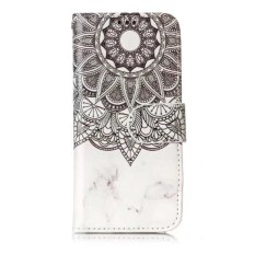 Wake Glossy Embossed Leather Case Cover untuk IPod Touch 5/6-Intl