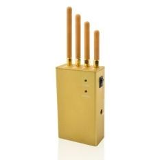 Beli Wmj 04 3 In 1 High Power Signal Jammer Untuk Gps Ponsel 3G Emas Intl Online Terpercaya