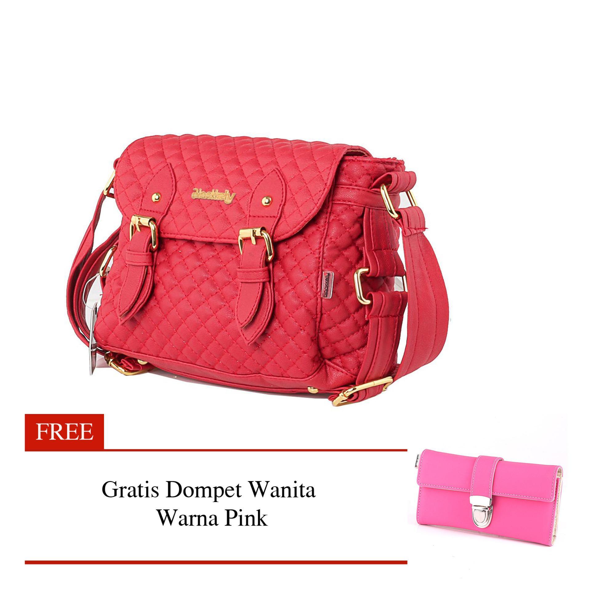 Toko Woman Bag Tas Wanita Warna Merah Blackkely Lpo 425 Dekat Sini