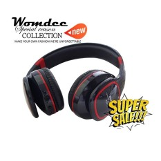 Daftar Harga Womdee Bluetooth Headphone Wireless Music Foldable Handfree Handset With Mic Support Fm Radio Tf Card Mp3 Player Intl Womdee